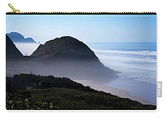 Carry-all Pouch featuring the photograph Central Oregon Coast 101718 by Rospotte Photography