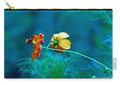 Carry-all Pouch featuring the photograph Chance Meeting by Rosanne Licciardi