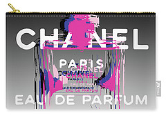Chanel No 5 - Pop Art Carry-all Pouch