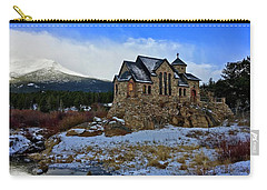 Carry-all Pouch featuring the photograph Chapel On The Rock by Dan Miller