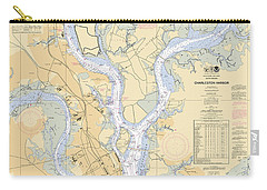 Charleston Harbor, Noaa Chart 11524 Carry-all Pouch