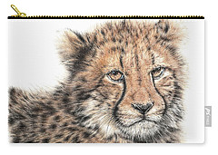Cheetah Cub Carry-all Pouch