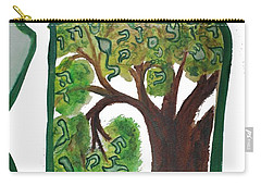 Chet, Tree Of Life  Ab21 Carry-all Pouch