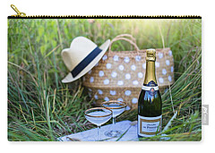 Carry-all Pouch featuring the photograph Chic Picnic by Top Wallpapers