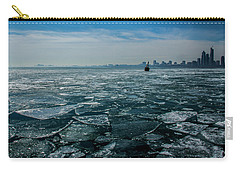 Chicago In Winter Carry-all Pouch