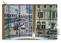 Carry-all Pouch featuring the photograph Chicago Streets by Rosanne Licciardi