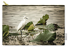 Chinese Egret Carry-all Pouch