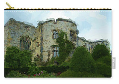 Chirk Castle Painting Carry-all Pouch