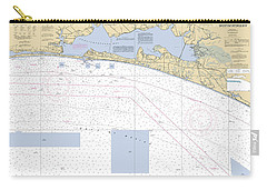 Choctawhatchee Bay Noaa Chart 11388 Carry-all Pouch