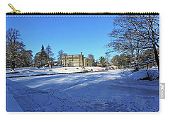 Chorley. Astley Hall In The Snow Carry-all Pouch
