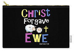 Christian Gifts For Kids Christ Forgave Ewe Carry-all Pouch