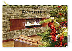Christmas At Woodford Reserve Carry-all Pouch