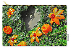Christmas Citrus Carry-all Pouch