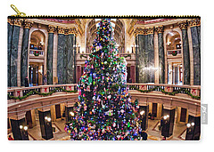 Christmas Tree -capitol - Madison - Wisconsin 2 Carry-all Pouch