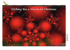 Christmas Wish Balls Carry-all Pouch