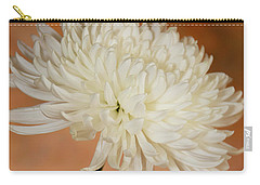 Chrysanthemum On Canvas Carry-all Pouch