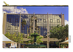 Carry-all Pouch featuring the photograph Church Reflections by Tony Murtagh