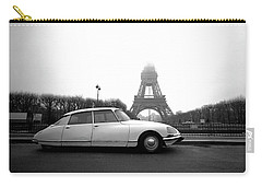 Carry-all Pouch featuring the photograph Citroen by Jim Mathis
