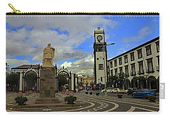 Carry-all Pouch featuring the photograph City Gate  by Tony Murtagh