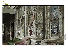 Carry-all Pouch featuring the photograph Clarksdale by Jim Mathis