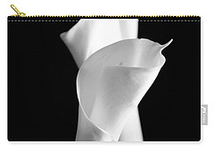 Classic Calla Lilies-bw Carry-all Pouch