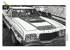 Classic Ford Sketch Carry-all Pouch