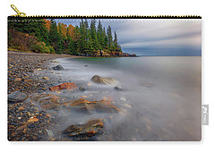 Carry-all Pouch featuring the photograph Clearing Storm At Owl's Head by Rick Berk