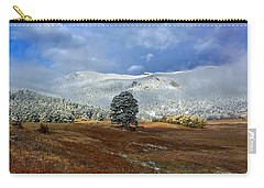 Carry-all Pouch featuring the photograph Clearing Storm by Dan Miller