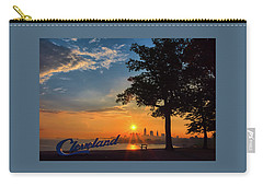 Cleveland Sign Sunrise Carry-all Pouch