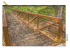 Close Up Of Bridge At Pine Quarry Park Carry-all Pouch