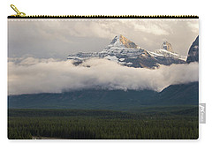 Carry-all Pouch featuring the photograph Clouds In The Valley by Alex Lapidus