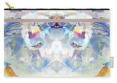 Carry-all Pouch featuring the painting Clouds by John Jr Gholson