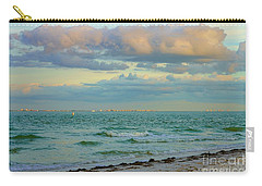 Clouds Over Sanibel Beach Carry-all Pouch