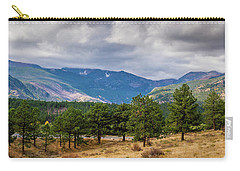 Clouds Over The Rockies Carry-all Pouch