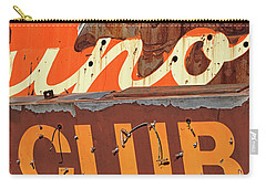 Carry-all Pouch featuring the photograph Club by Skip Hunt