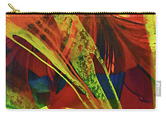 Carry-all Pouch featuring the painting Coalition by Kate Word