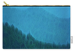 Carry-all Pouch featuring the photograph Coastal Life In Alaska by Mike Braun