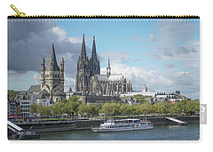 Carry-all Pouch featuring the photograph Cologne, Germany by Jim Mathis