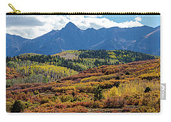 Carry-all Pouch featuring the photograph Colorado Color Bonanza by James BO Insogna