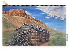 Colorado Prarie Cabin Carry-all Pouch