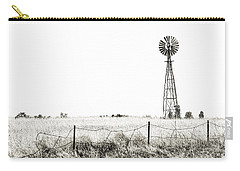 Carry-all Pouch featuring the photograph Colorado Windmill by Andy Crawford