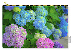Colorful Hydrangeas Carry-all Pouch