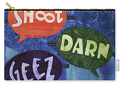 Colorful Language Carry-all Pouch