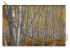 Carry-all Pouch featuring the photograph Colorful Stick Forest by James BO Insogna