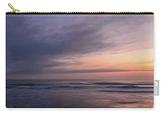 Carry-all Pouch featuring the photograph Colors Of Dawn by John M Bailey