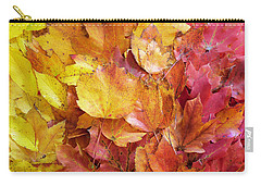 Colors Of Fall - Yellow To Red Carry-all Pouch