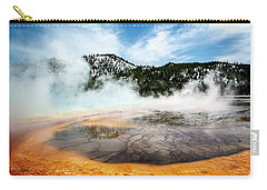 Carry-all Pouch featuring the photograph Colors Of Yellowstone by Scott Read
