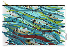 Coloured Water Fish - Digital Change 2 Carry-all Pouch