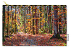 Carry-all Pouch featuring the photograph Colours Of Nature by Edmund Nagele