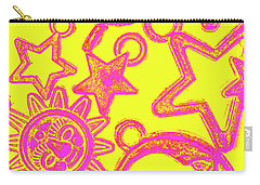 Comic Constellation Carry-all Pouch